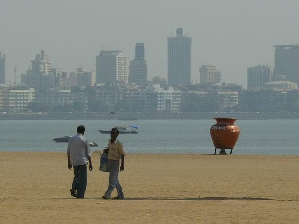 Playa de Mumbai