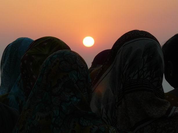 Puesta de sol en Monte Abu