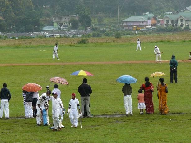 Cricket en Nuwara Eliya... o Inglaterra