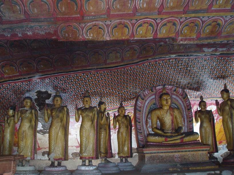 Cuevas Budistas en Dambulla