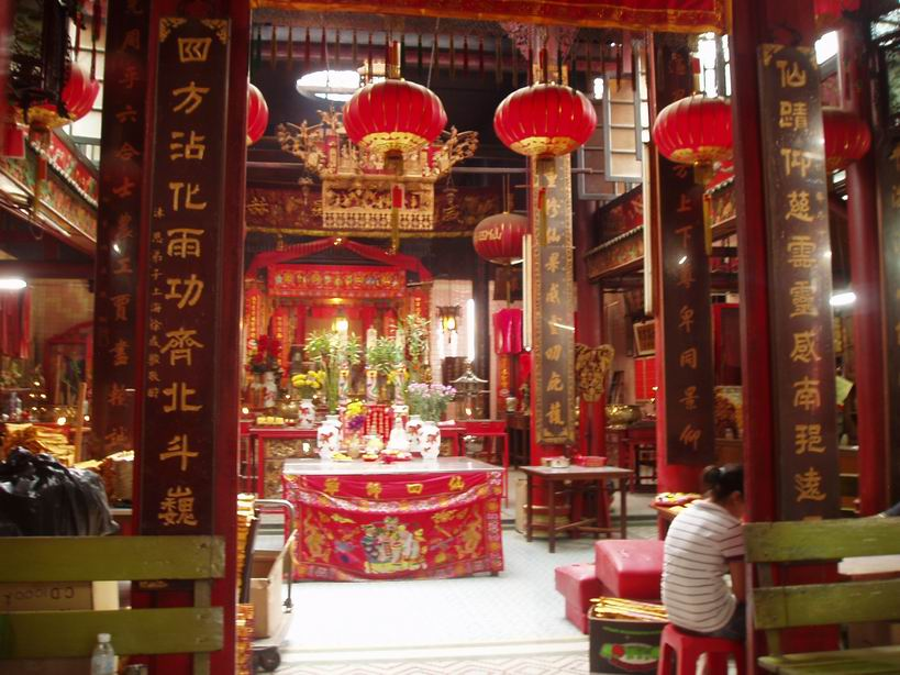 Templo Chino en Kuala Lumpur
