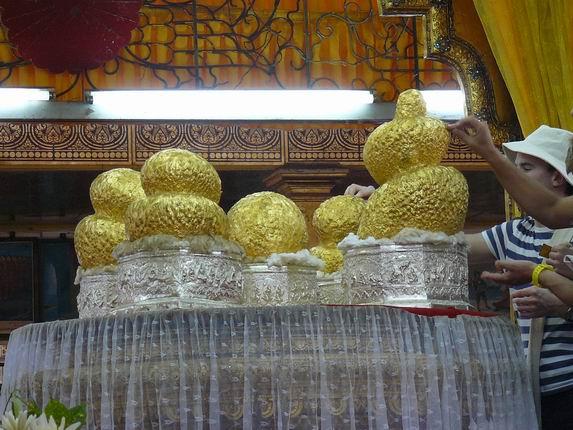 Budas de Phaung Daw Oo, Inle