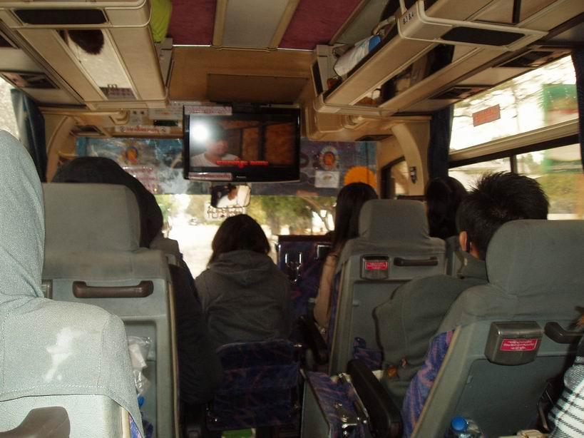 Buses en Myanmar