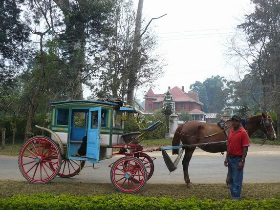 Calesa en Pyin U Lwin
