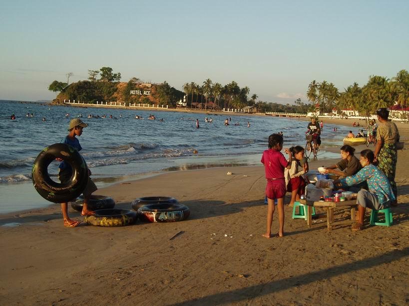 Playa de Chaung Tha