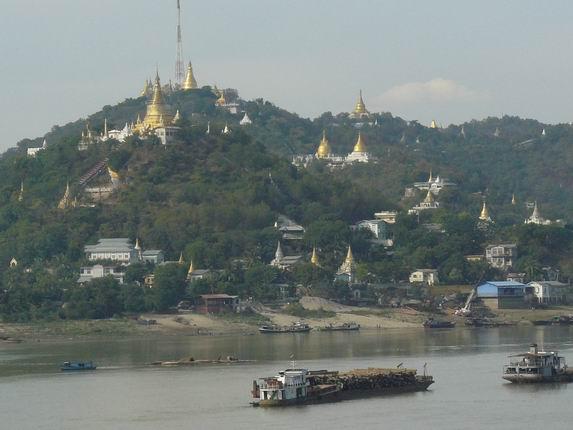 Pagodas de Sagaing