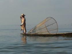 Pescador intha en Inle