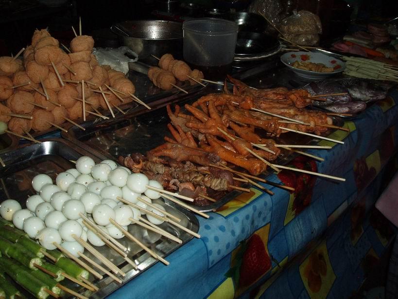 Mercado nocturno de Pyin U Lwin