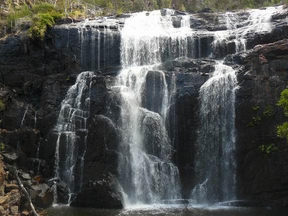 Cascada Mackenzie en las Grampians