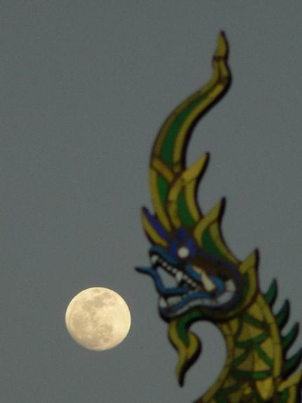 Luna llena en Chiang Mai