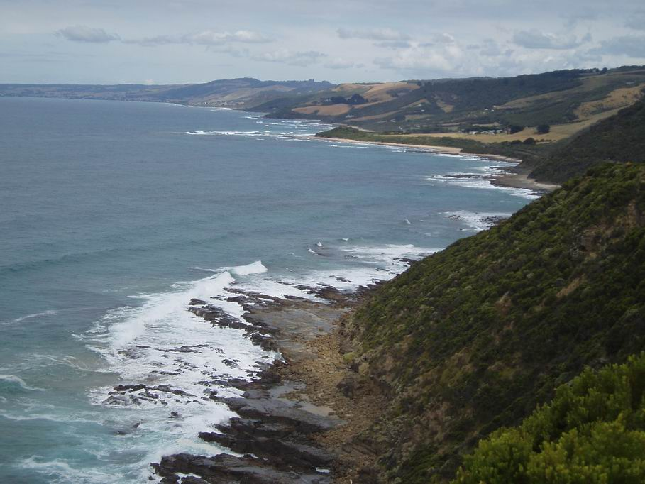 "Vistas desde ""Great Ocean Road"""