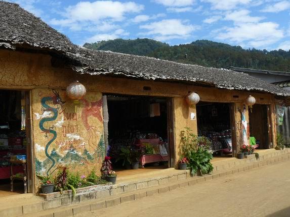 Pueblo chino de Ban Rak Thai