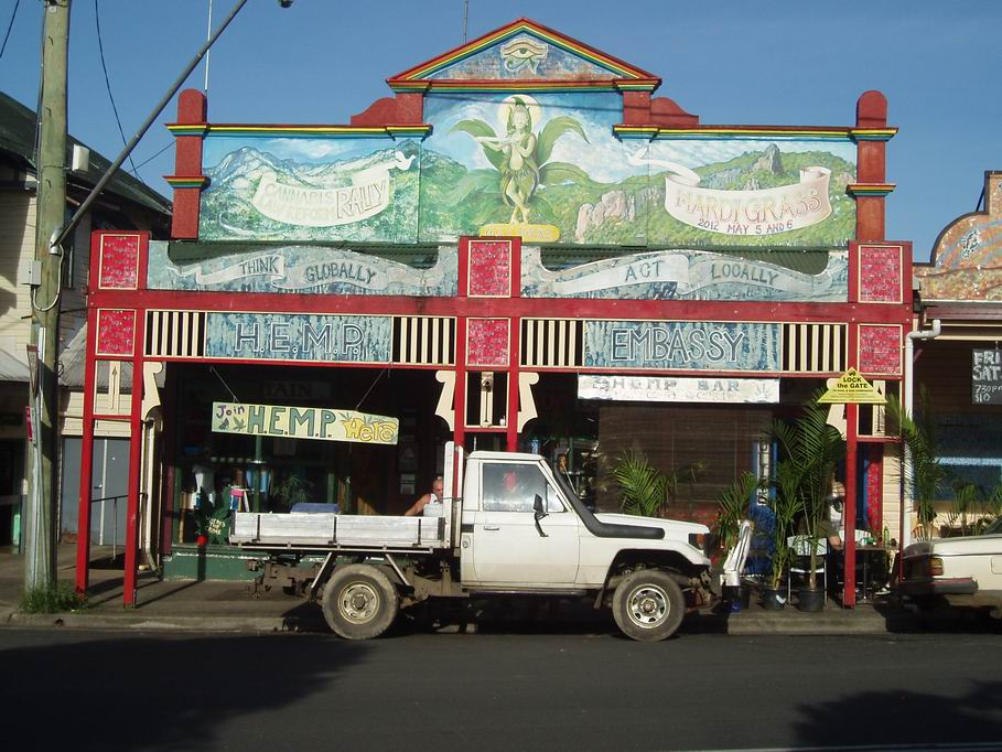 Embajada de la Marihuana en Nimbin