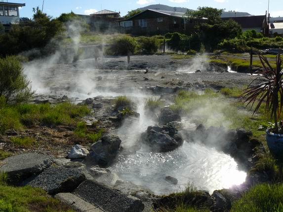 Barrio de Ohihemutu, en Rotorua
