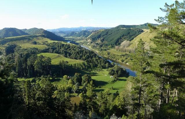 Vista del valle Wanganui