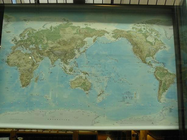 mapamundi australiano