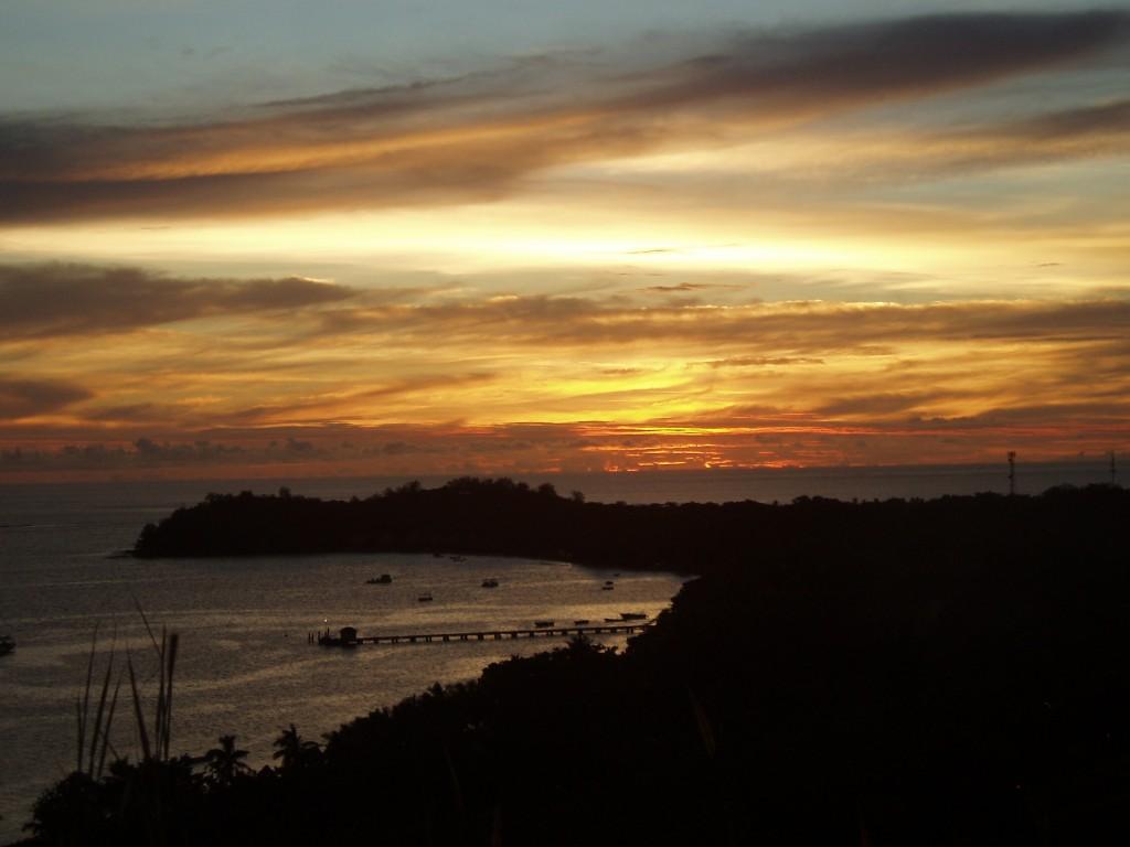 Atardecer en Mana, Fiji