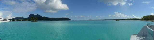 Bora Bora desde el aeropuerto
