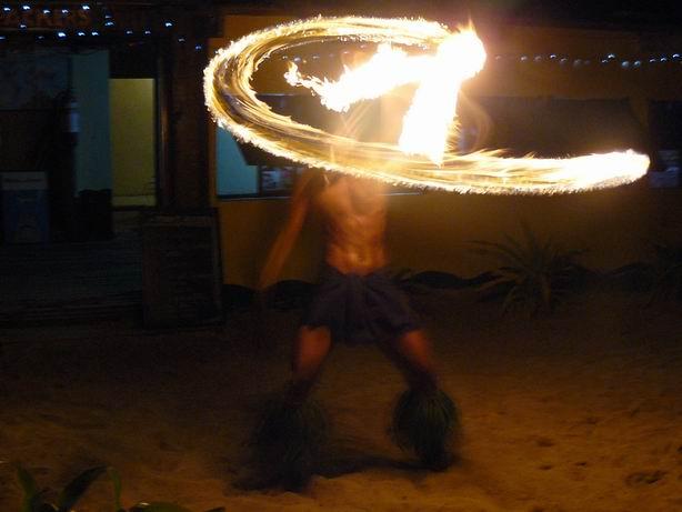 Danza con fuego de Fiji