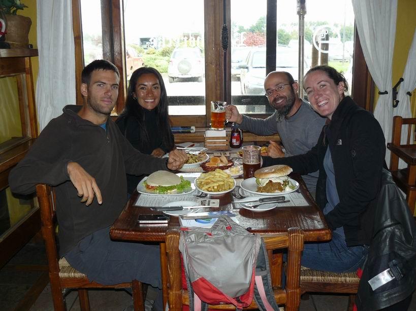 Celebrando con nuestros amigos Carole y Marcel
