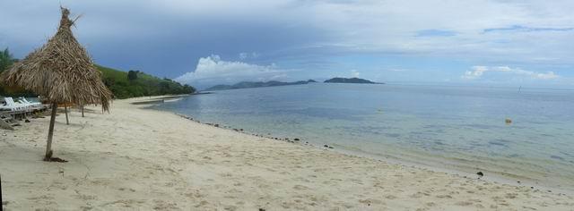 Playa de la isla de Mana