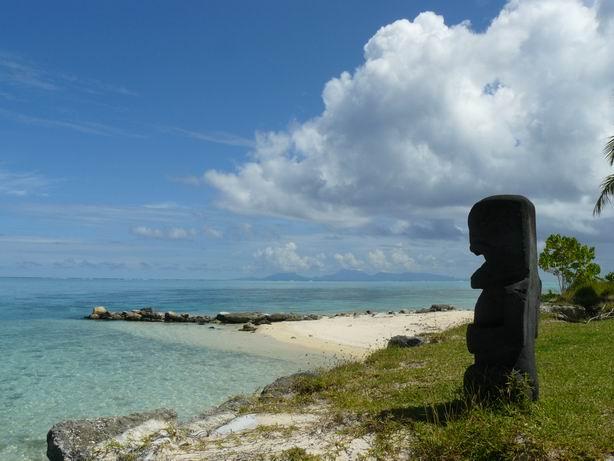 Tiki en Huahine