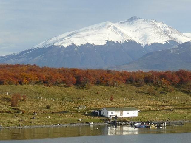 Llegando a Puerto Natales
