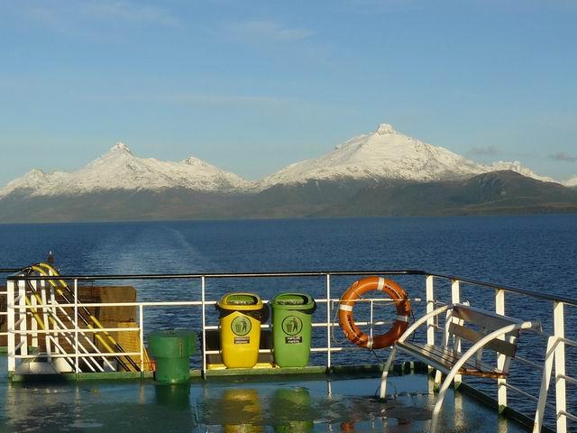 Navegando en Patagonia