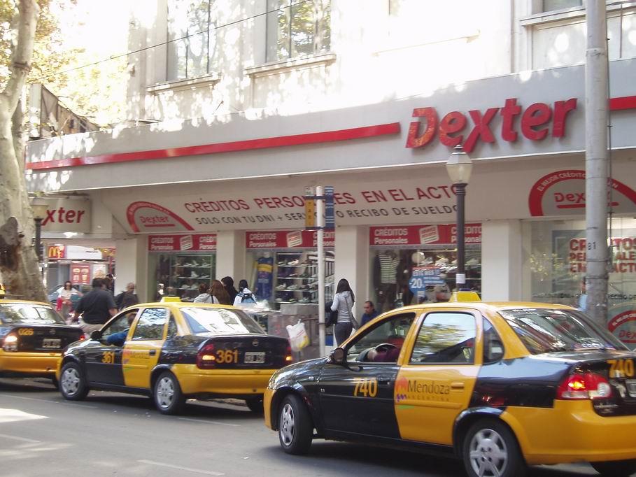 Calle del centro de Mendoza