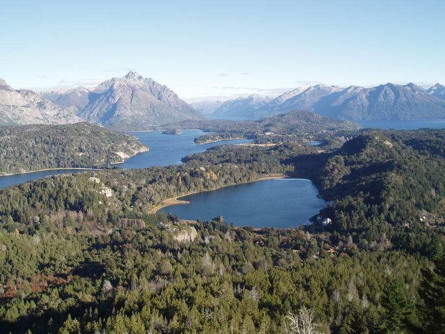 Vistas desde Cerro Campanario, Bariloche