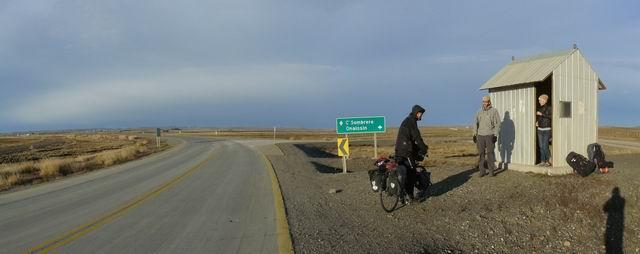 pedaleando por Tierra del Fuego