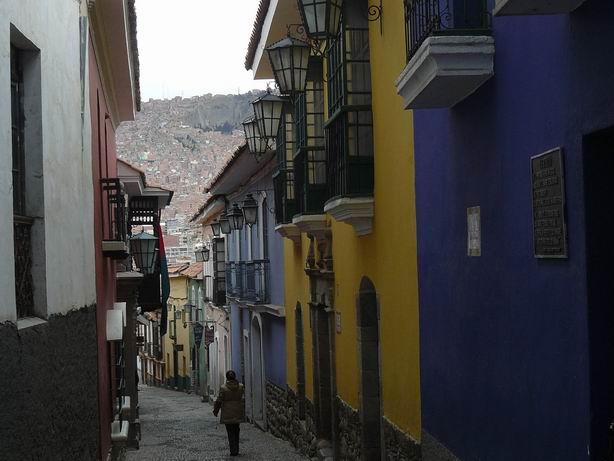Calle Jaen en La Paz