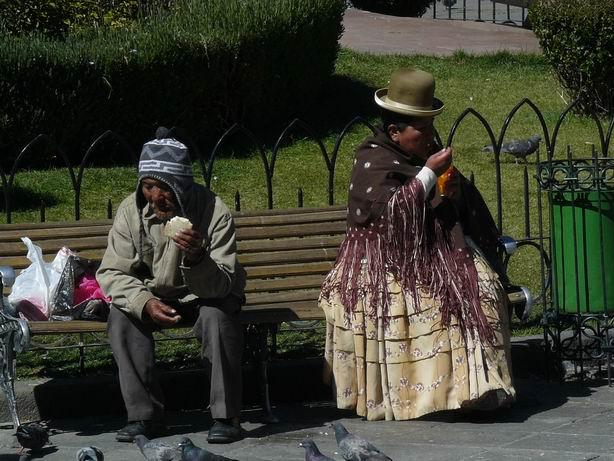 Cholos en La Paz