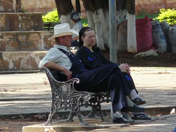 Menonitas en Chiquitos