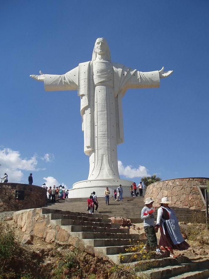 Cristo de la Concordia, Cochabamba