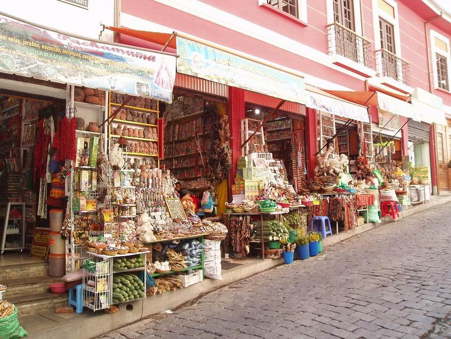 Mercado de La Paz