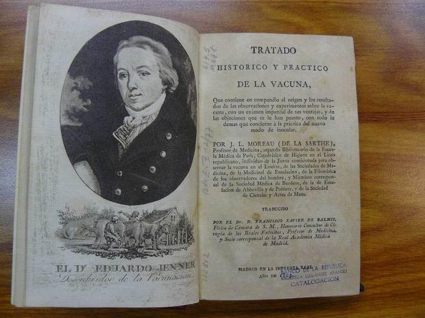 Tratado de la Vacuna traducido por Balmis