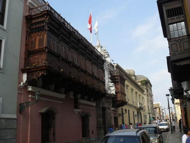 Balcones del centro de Lima