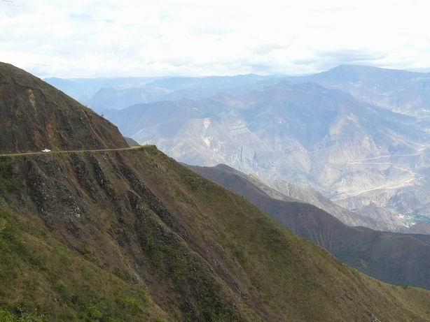 Carretera de Cajamarca a Tingo