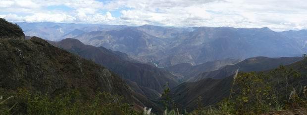 La carretera a Chachapoyas
