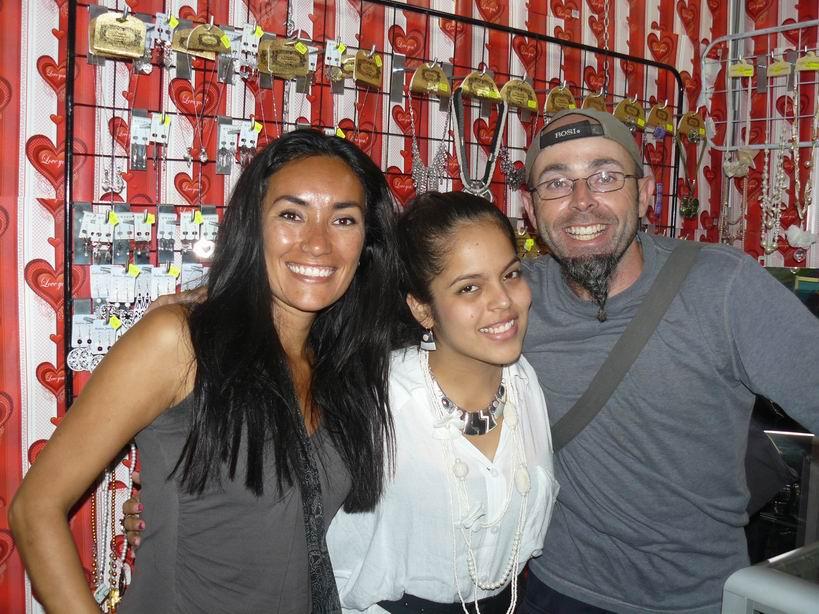Con Vamsi en Lima