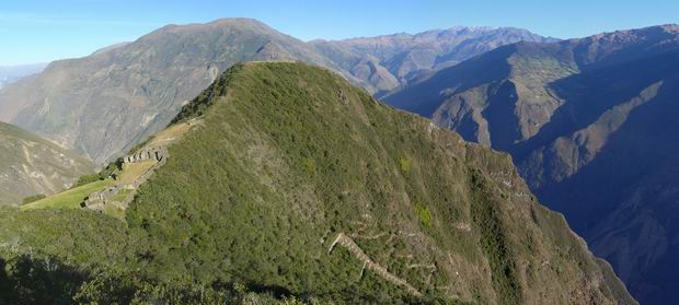 Panorama de Choquequirao