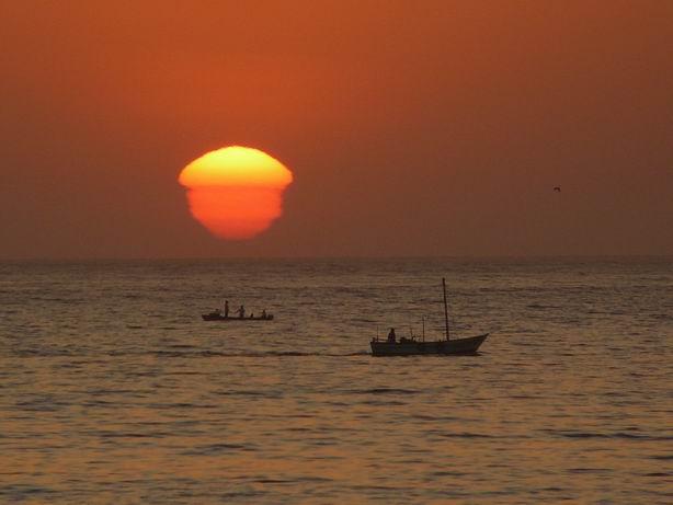 Puesta de sol en Mancora