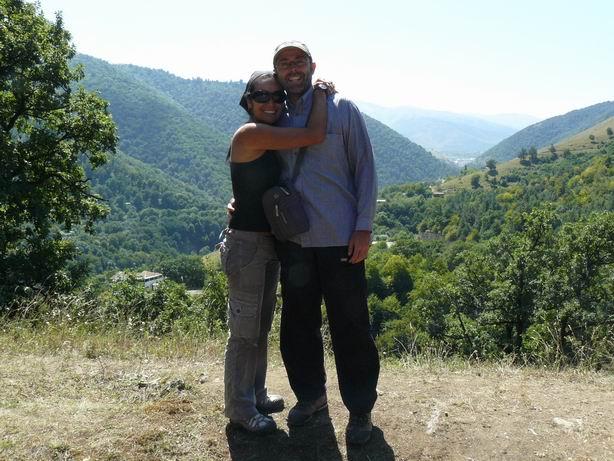 Comenzando el viaje, montañas de Armenia