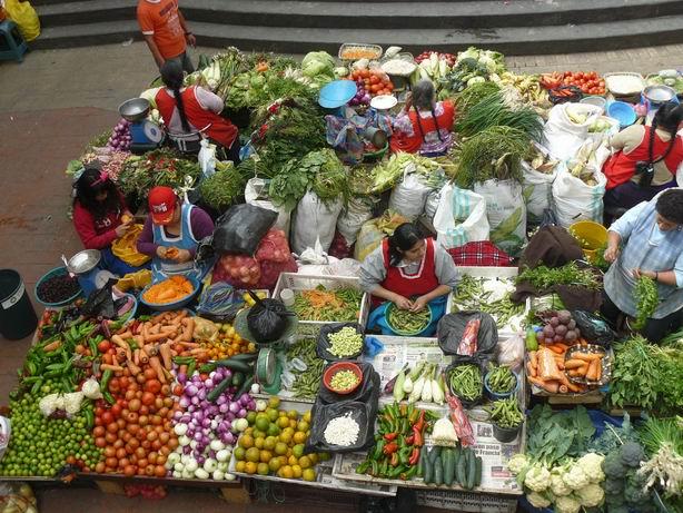 Mercado en Cuenca