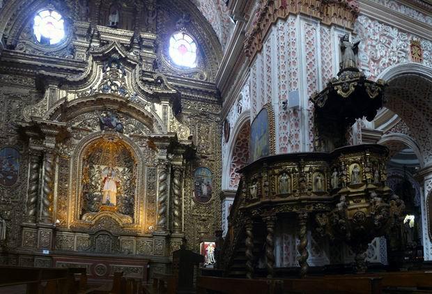 Púlpito de La Merced, Quito