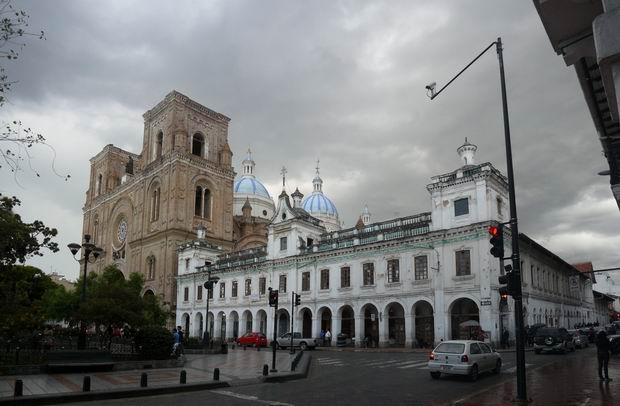 Parque Calderón de Cuenca