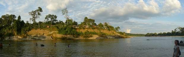 Puerto Misahuali en el río Napo