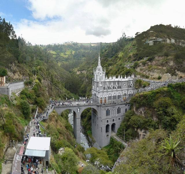 Santuario de las Lajas en Ipiales