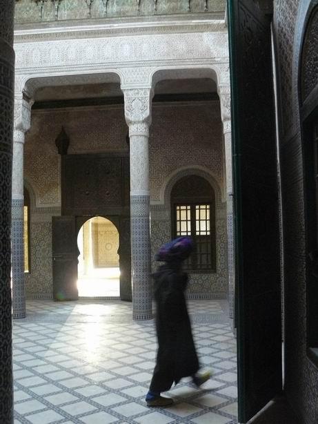 Interior Kasbah de Tellouet